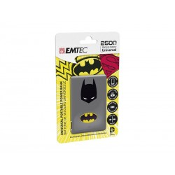 EMTEC Power Bank 2500mAh Justice League (Batman)