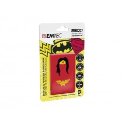 EMTEC Power Bank 2500mAh Justice League (Wonderwoman)