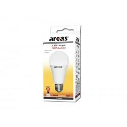 Ampoule économique LED Arcas 12W (=75W) Lumière blanche chaude 3000K E27 (1055 Lumens)