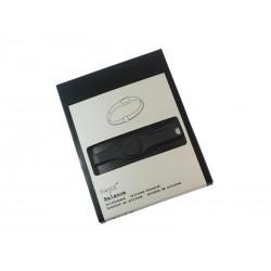 Bracelet Balance en silicone. pour plus de flexibilité et stabilité (Taille S. Noir)
