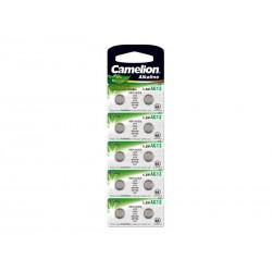 Pack de 10 piles Camelion Alcaline AG13 0% Mercury/Hg