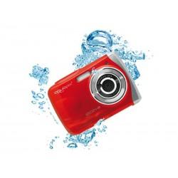 Easypix W1024 Splash - Appareil photo numérique étanche (Rouge)