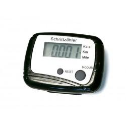 Pédomètre KM - Compteur de calories (Noir)