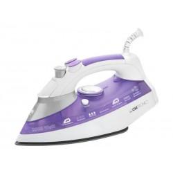 Fer à repasser vapeur DB 3486 Clatronic 2800 watts - Blanc/violet