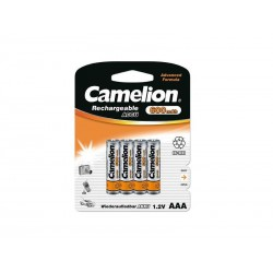 Pack de 4 piles rechargeables Camelion AAA Micro 600mAh