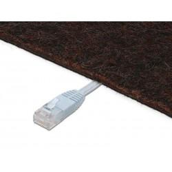 Câble réseau Digitus Câble patch CAT 5e U-UTP DK11511-010F/Y (1m/Jaune)