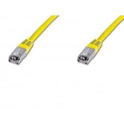 Câble réseau Digitus Câble patch CAT 6 S-FTP DK-1641-010/Y (1m/Jaune)