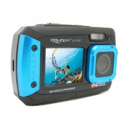 Caméra numérique SELFIES SOUS-MARIN Easypix AQUAPIX W1400 (Iceblue)