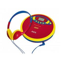 Lecteur baladeur CD/MP3 AEG CDP 4228 pour enfants - Kids Line