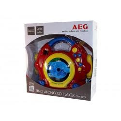 Lecteur CD Sing Along AEG CDK 4229 pour enfants
