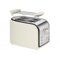 Grille pain automatique Clatronic TA 3557 crème-inox