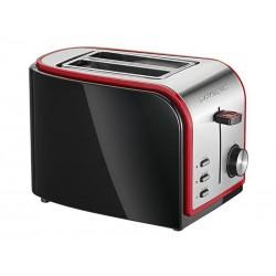 Grille pain automatique Clatronic TA 3557 noir-inox