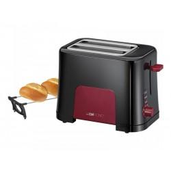 Grille-pain Clatronic TA 3551 noir-rouge