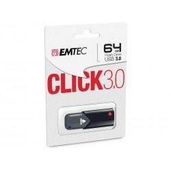 Clé USB 64Go EMTEC Click 3.0 Blister
