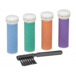 Appareil de pédicure anti-callosités PHE 5642 AEG blanc-violet