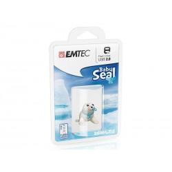 Clé USB 8Go EMTEC Animalitos (Baby Seal) - Sous blister