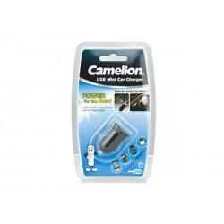 Mini chargeur Camelion allume-cigare pour USB (DD802-DB)