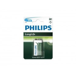 Pile 9V Philips Longlife (1 pce)