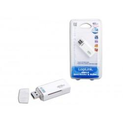 Lecteur de carte USB 3.0 blanc LogiLink (CR0034)