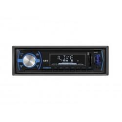 Autoradio AEG AR 4030 avec Bluetooth USB & lecteur de carte (Noir)