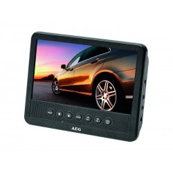 Lecteur DVD 7 pour voiture AEG Car Cinema DVD 4555 Noir