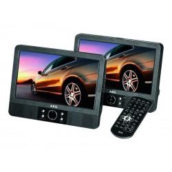 Lecteur DVD AEG pour voiture Car Cinema 9 pouces DVD 4556 LCD - Noir