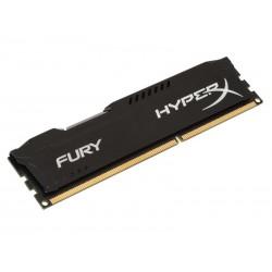 Barrette mémoire Kingston HyperX Fury DDR3 1600MHz 8Go Noir HX316C10FB/8