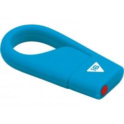 Clé USB 16Go EMTEC HANG D200 (Bleu)