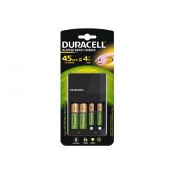 Chargeur universel Duracell CEF14, incl. 2xAA 2xAAA
