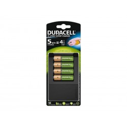 Chargeur universel Duracell CEF15, incl. 4x AA