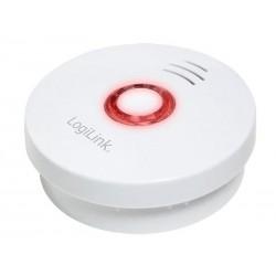 Détecteur de fumée LogiLink - Batterie 10 ans de vie - blanc (SC0006)