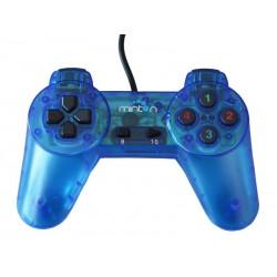 Manette USB MGC-360 pour PC - Bleu