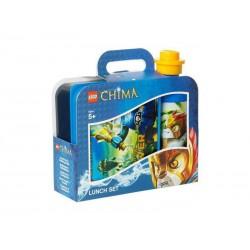 Kit repas LEGO Chima (2pces) pour enfant