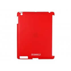 Coque de protection SmartShell Cool Bananas pour iPad en silicone (Rouge)