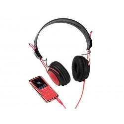 MP3 Lecteur vidéo 8Go Intenso SCOOTER + casque - Rose