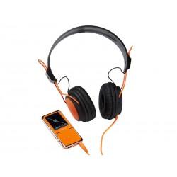 MP3 Lecteur vidéo 8Go Intenso SCOOTER + casque - Orange