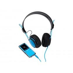 MP3 Lecteur vidéo 8Go Intenso SCOOTER + casque - Bleu