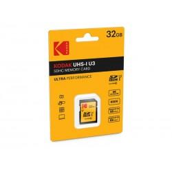 SDHC 32Go Kodak CL10 UH1 U3 Ultra 95MB/s - Sous blister