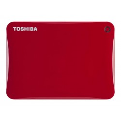 HDD externe Toshiba Canvio Connect II 1To Rouge HDTC810ER3AA