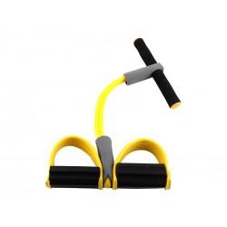 Appareil de gym - Rameur avec élastique