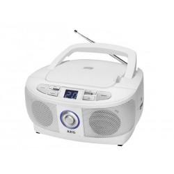 Radio stéréo AEG avec CD CD SR 4379 - Blanc