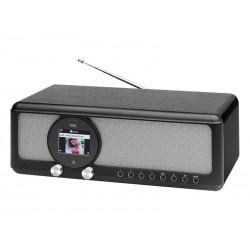 Radio internet stéréo CTC IR 7004 BT - Noir