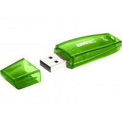 Clé USB 64GB EMTEC C410 (Vert) USB 2.0
