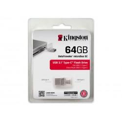 Flash & USB Kingston DataTraveler microDuo 3C 64Go DTDUO3C/64GB