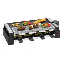 Raclette-grill avec pierre chaude Clatronic RG 3678