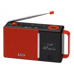 Radio DAB+/bluetooth AEG 4158 - Rouge