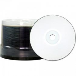 CD-R 80 JVC/TY (by CMC PRO) 48x Inkjet white Full Surface WaterPro 100er Bulk T-CDR80WPPWS-50SB