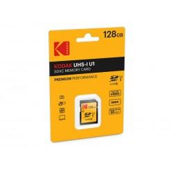 SDXC 128Go Kodak CL10 UHS-I 85MB/s - Sous blister