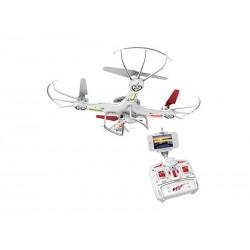 Drône DIYI D6Ci 2.4G 5 canaux avec Gyro + caméra,, WiFi (Blanc)