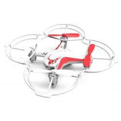 Drône DIYI D4V 2.4G 5 canaux avec Gyro + Contrôle vocal (Blanc)